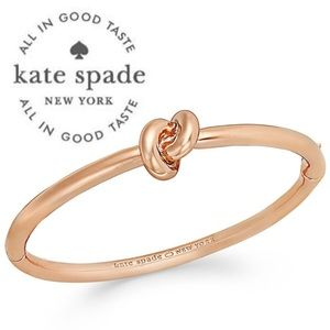 Kate Spade Sailors Knot Bracelet ♠️ Rose Gold